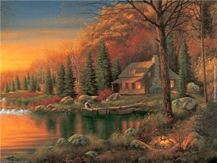 Дачные дома, сказочные дома, Джуди Гибсон, художник, строим дом, строим дачу