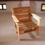 мебель для дачи, мебель из европоддонов, кресло из европоддонов, кресло своими руками