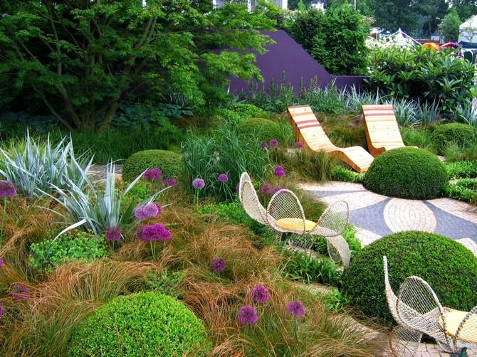 зачарованные сады,сад,планировка сада