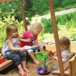 Детская площадка, для дачи, песочница для дачи