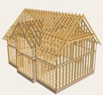 Строим каркасный дом или гараж: Видеофильм.Часть 3