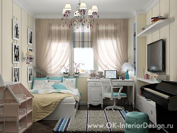 Дизайн спальни обоями фото