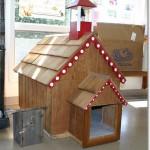 будка для собаки, будка для собаки своими руками, чертеж будки для собаки, купить будку для собаки, Людмила Ананьина,будка для собак фото, красивая будка для собак, креативные будки для собак