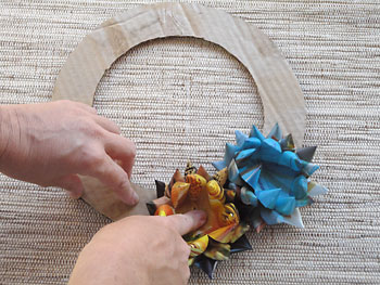 Новогодний венок из бумаги своими руками пошагово