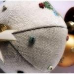 Новогодние поделки, поделки для дачи, рождественский венок, Людмила Ананьина, подарки на Новый Год,вышивка,подарки своими руками,поделки для дачи своими руками
