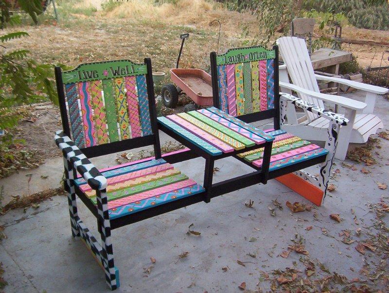 Из старых стульев своими руками фото