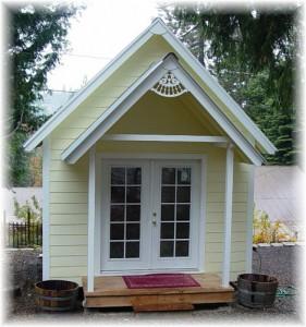 Домик для дачи садовый домик своими