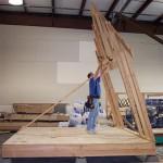 Строительство каркасного дома, Домик для дачи, садовый домик своими руками