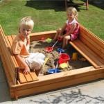 как сделать песочницу, детская песочница, песочница для детской зоны, песочница своими руками, как сделать песочницу