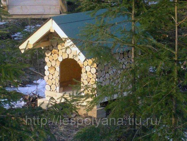 Чертежи будок для собак своими руками