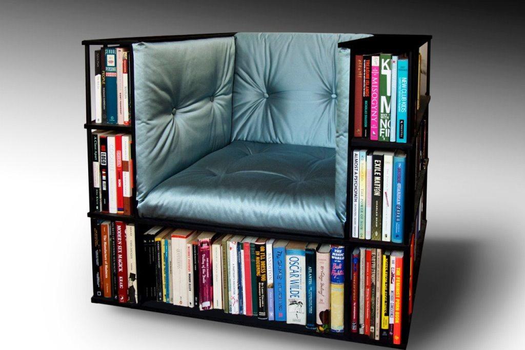 кресло, библиотека
