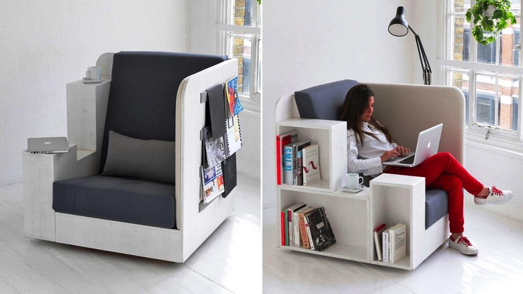 кресло-библиотека, кресло своими руками, как сделать кресла