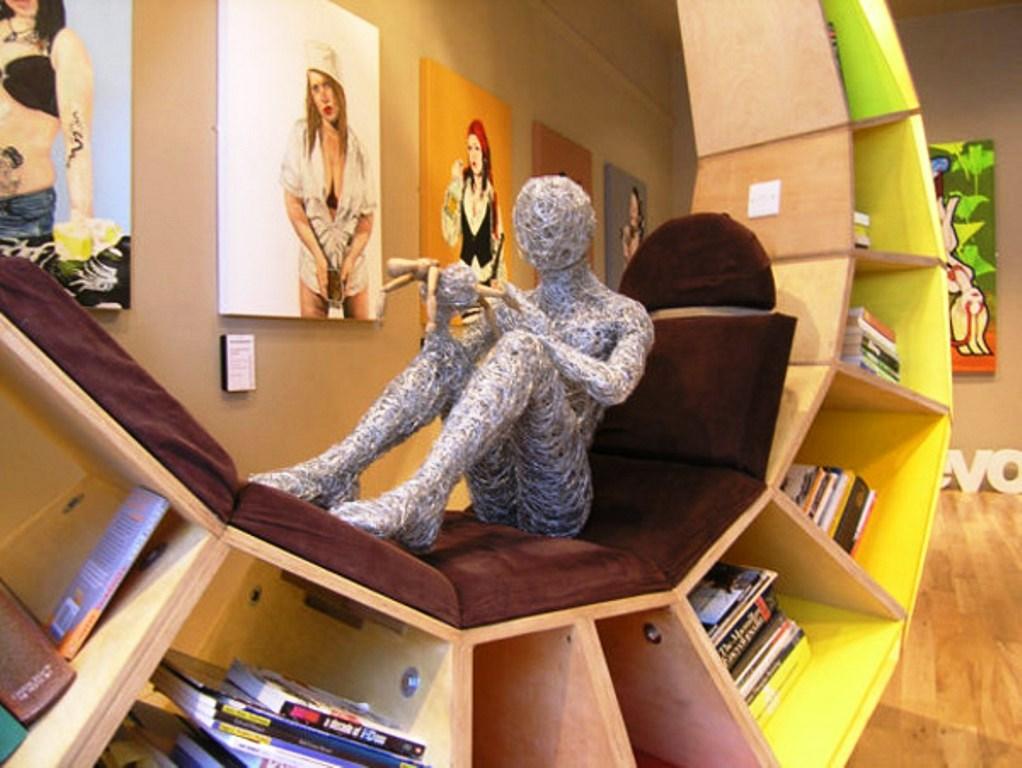 кресло-библиотека, мебель