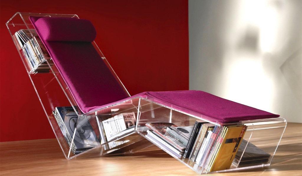 кресло-библиотека, мебель для дачи, поделки для дачи