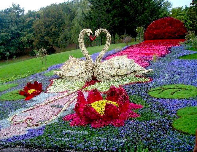Своими руками поделки для цветника