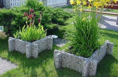 Садовый бордюр для цветников