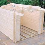 бытовка,садовый домик,летняя кухня, как построить домик на даче