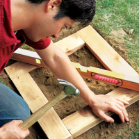скамейка-клумба, мебель для дачи, скамейки, сделай сам, мебель своими руками
