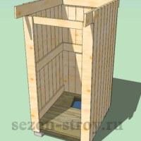 туалет, уборная, как строить туалет, как построить уборную