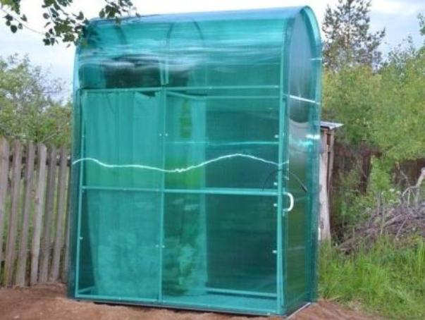 летний душ, для дачи, поликарбонат, душ